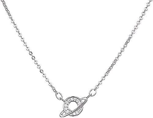 LBBYMX Co.,ltd Collar Planeta Collar Collares Pendientes para Mujeres Collares Largos de declaración Collares de joyería Collar Colgante de Cadena para Mujeres Hombres