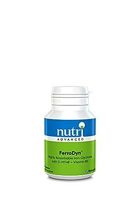 Nutri Advanced Ferrodyn (Iron Bisglycinate) 60 Capsules by Nutri