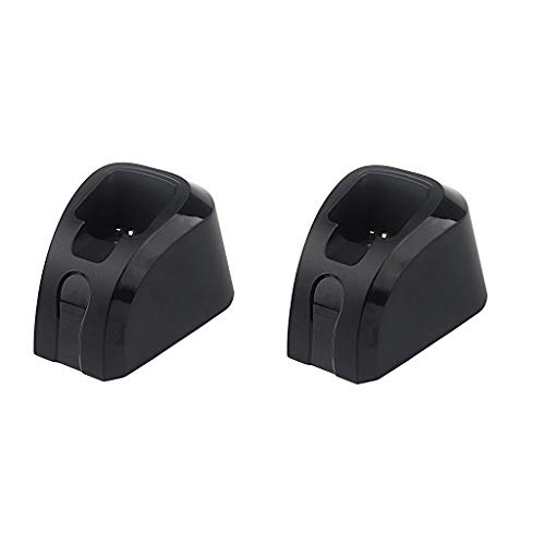 yotijar 2 Packs Electric Hair Charging Dock Replaces for Wahl 8591 Parts, High Performance Electric Hair Clipper Charging Base Replacements