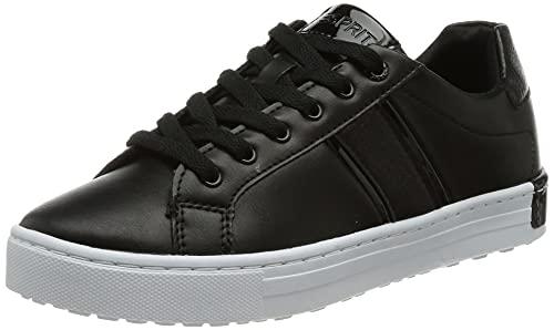 ESPRIT Damen 071EK1W308 Sneaker, Schwarz, 36 EU