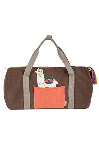 Adelheid Weltenbummlerin Reisetasche, Farbe:erdgrau, Größe:ohne Größe