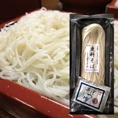 【更科そば】冷凍生麺(つゆ付) (4人前)
