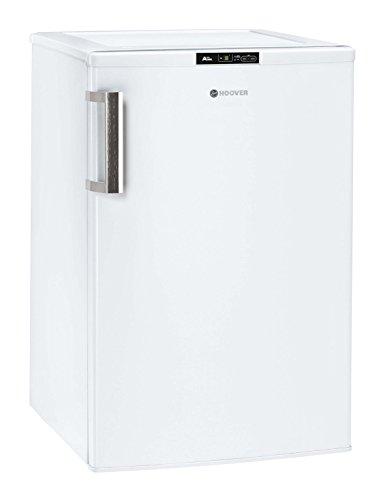 Hoover HVTUS 544 IWH Mini-Gefrierschrank/A++ / 85 cm Höhe / 141 kWh/Jahr / 82 L Gefrierteil/Edelstahlhandgriff/Digitaldisplay/weiß