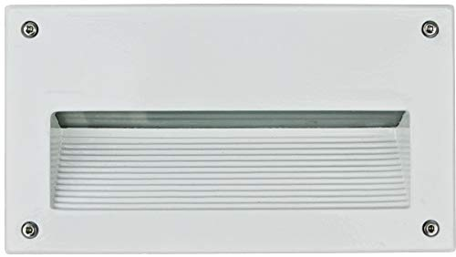 DABMAR LIGHTING DSL1003-LED9-W Step Light Recessed Lens 5 Watt PL-LED 85-264 Volts