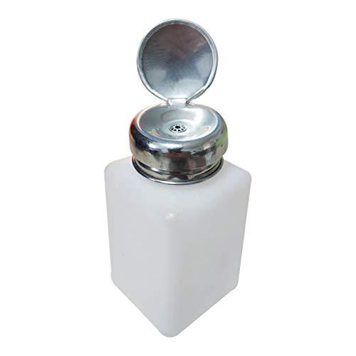 Generic 200ml Verre Bouteille Pompe Liquide Dissolvant Démaquillant Pour Vernis à Ongles