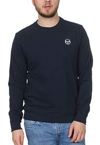 Sergio Tacchini Sweater Herren Colbert 38126 Navy, Größe:M