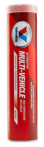 Valvoline Multi-Vehicle High Temperature Red Grease 14.1 OZ Cartridge