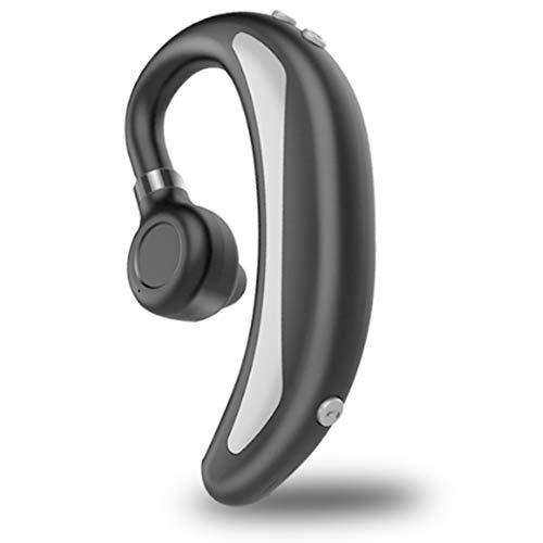 Bluetooth Kopfhörer, Kabellos Bluetooth 5.0 Wireless Kopfhörer mit Integriertem Mikrofon,Hi-Fi Stereo Sound,Deep Bass, Wasserdicht Kopfhörer Sport, für iOS Android Samsung Huawei. Grau, HUN015UNH
