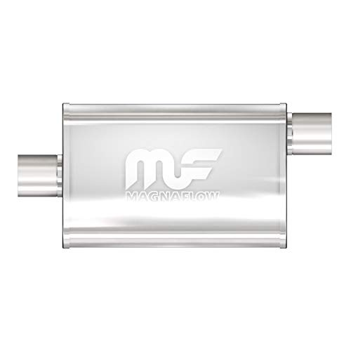 MagnaFlow 4in x 9in Oval Center/Offset Performance Muffler Exhaust 11226 -...