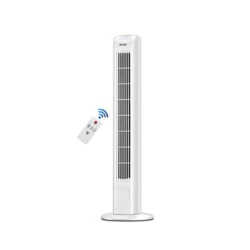 XUERUI elektrische ventilator, verticaal, multifunctioneel, kan de kop stil, restaurant woonkamer, gangventilator, drie snelheden instelbaar.