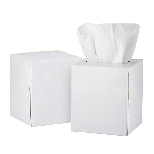 Perfect Stix Facial Tissue Cube Box Pack of 300 Sheets