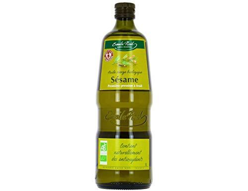 Aceite de sésamo virgen de comercio justo orgánico 1 L de aceite