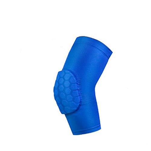 L&SH Armschutzabdeckung 1 STÜCKE, Anti-Kollisions-Kompressionsarmmanschette Für Das Sport-Ellbogengelenk, Armschutz-Waben-Anti-Kollisionsdruck-Ellenbogenschutz (Blau,M)