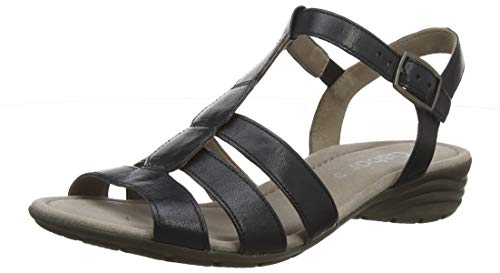 Gabor Shoes Damen Gabor Casual Riemchensandalen, Blau (Ocean 56), 41 EU (7.5 UK)