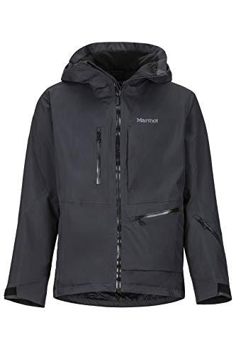 Marmot Herren Refuge Hardshell Ski- Und Snowboard Jacke, Winddicht, Wasserdicht, Atmungsaktiv, Black, S