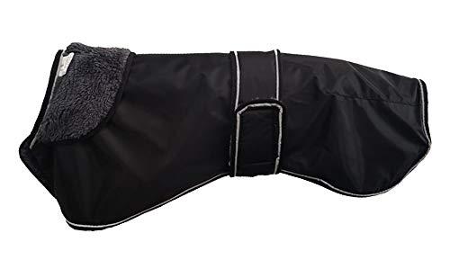 Morezi Wasserdichte Hundejacke für den Winter, mit warmem Fleece-Futter, Outdoor-Kleidung, mit verstellbaren Bändern für mittelgroße und große Hunde - 3