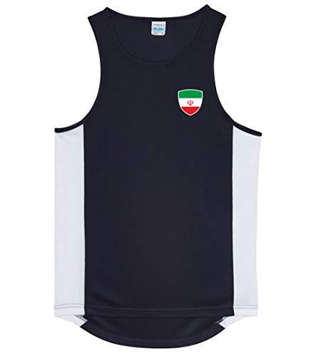 Nation Iran Trikot Tank Top Athletic Sport Gym ATH BR-SC (S)