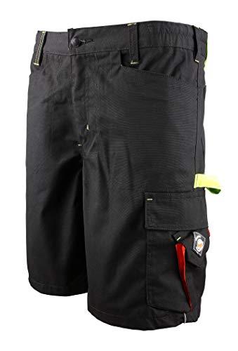 Prisma® - Herren Shorts/kurzen Arbeitshosen - für den Sommer - Schwarz EU56