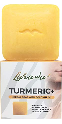 Turmeric Soap Bar with Tamarind & Honey 3.52 oz | Gentle soap on Face and Body for Men & Women