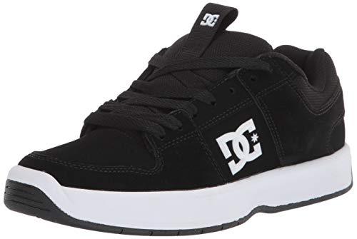 DC mens Lynx Zero Skateboard, Skate Shoe, Black/White, 10 US