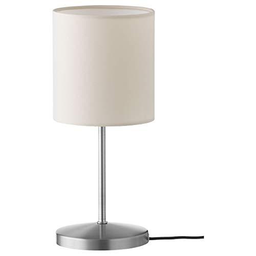 2er Set IKEA INGARED Tischleuchte 30x Ø13cm beige