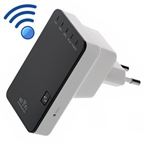 Mini portátil Wireless-N Router–2.4GHz, LAN Ports, Wi-Fi Repeater Access Point