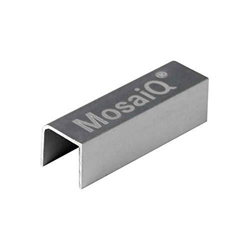 Clips d'assemblage - Profondeur : 40 mm - Hauteur : 12 mm - Largeur : 13,5 mm - Décor : Anodisé - Matériau : Aluminium - KESSEBOHMER