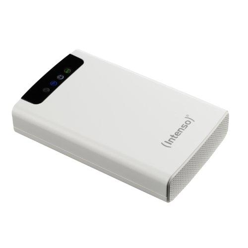 Intenso 6025561 HDD Esterno, 2.5 Pollici, USB 3.0, 1000 GB, Autoalimentato, Bianco, 5400 RPM, 600 Mb/s