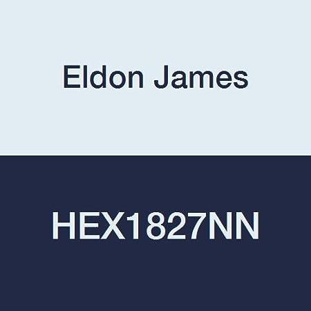 Pack of 10 1//4-18 NPT Thread to 3//8 Barb Eldon James L4-6GFBN Glass Filled Black Nylon Threaded Elbow
