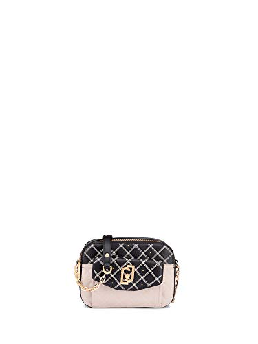 Liu-jo accessori 2 - Borsa col. 00838 beige/nero NA0209E0015