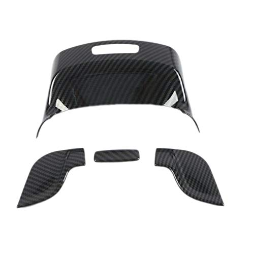 HUAER Ajuste para Mercedes Benz Gla Clase H247 2020-2021 Fibra de Carbono ABS ABS Car Interior Interior Caja DE Caja DE Cubierta DE Cubierta Trim