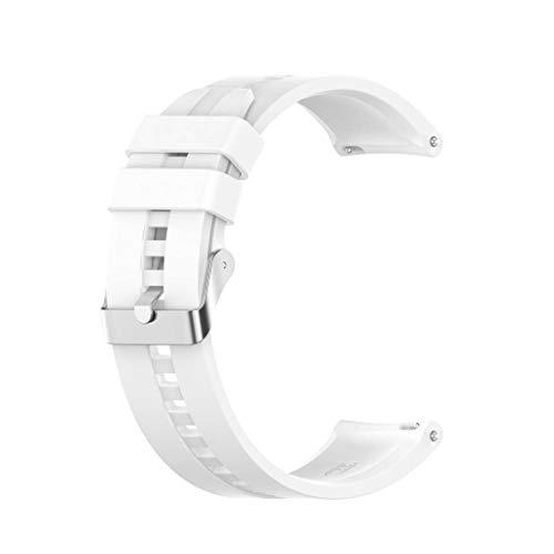 GUO Correa Reloj Silicona Blanda Correa De Repuesto para Huawei Watch GT2 / -Samsung -GalaxyWatch3 / -AmazfitGTR