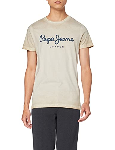 Pepe Jeans West Sir New Camiseta, 844beige, XL para Hombre