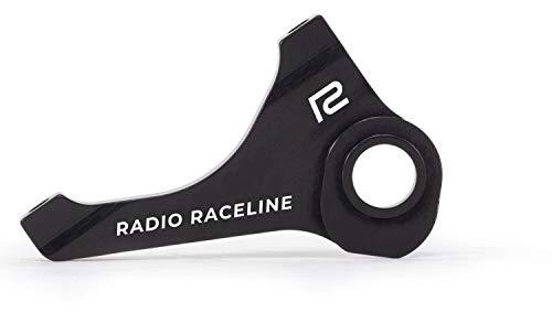 Radio Helium Pro Support de Frein à Disque BMX Race (15 mm - Noir)