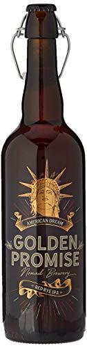 Golden Promise Brewing Botella EDICION UNICA, serigrafiada, en caja, 75cl AMERICAN DREAM RED RYE IPA - CERVEZAS GOURMET de elaboración limitada - de centeno