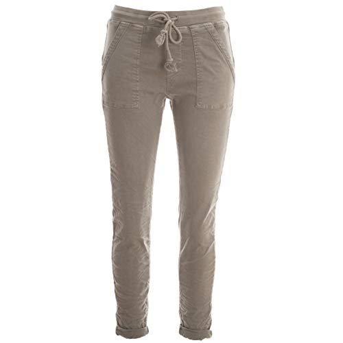 Basic.de Cotton Stretch-Hose Jogging-Pant Style Square Pocket Pant Melly & CO 8181 Schlamm L