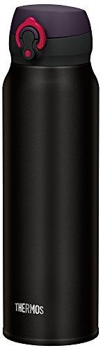 『サーモス 水筒 真空断熱ケータイマグ 【ワンタッチオープンタイプ】 750ml マットブラック JNL-752 MTBK』のトップ画像
