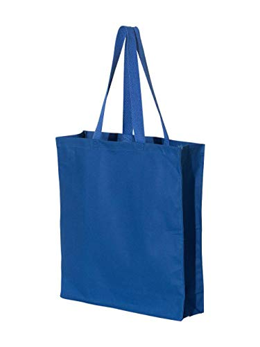 Liberty Bags OAD Promo Canvas Shopper Tote OS ROYAL