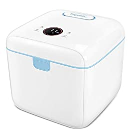 Papablic 4-in-1 UV Sterilizer and Dryer Pro | UV Light Sanitizer with Dual UV-C Lights | Touch Screen Control