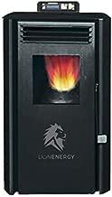 Lion Energy Pellet Stove - 13,650 BTU - Heats a 400 sq. Foot Area - Electric Pellet Heater