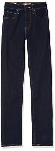 Levi's Damen 724 HIGH Rise Straight Jeans, Schwarz (to The Nine 0015), 29W / 32L