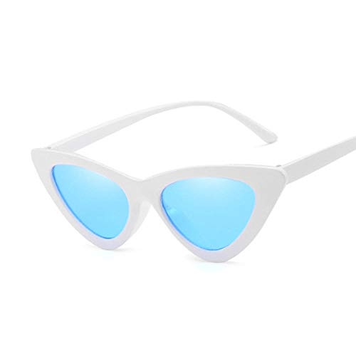 Gafas de sol de ojo de gato para mujer, estilo vintage, color negro, marco pequeño, adecuado para senderismo, conducción, ciclismo