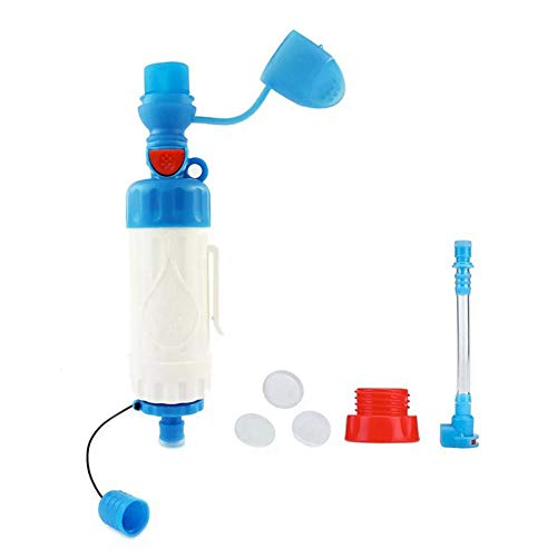 QSCZZ Outdoor-Wasseraufbereitungssystem, 0,01 Micron Hohlultrafiltrationsmembran, 99,9% Filtration von schädlichen Bakterien in Wasser, tragbares Direkt Trinken Notausrüstung