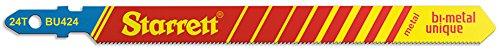 Starrett BU424-5 - Kit de 5 hojas para sierra de calar
