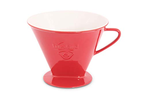 Friesland Kaffeefilter Gr. 6 Rot Porzellan