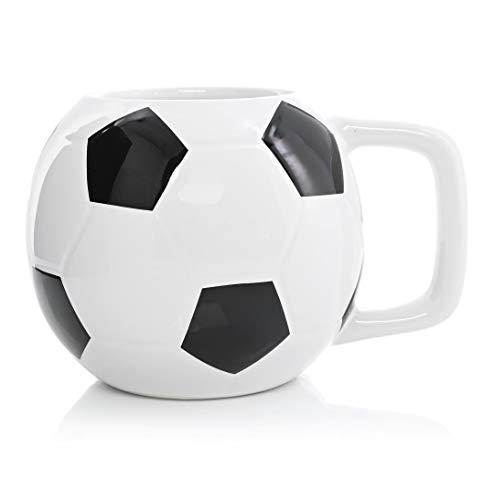 Taza En Forma De Futbol