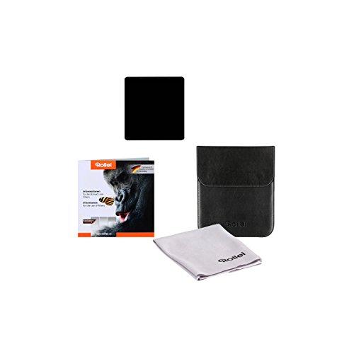 Rollei Profi Rechteckfilter Mark II - Graufilter (100x105 mm) aus Gorilla Glas - ND1000 Stopper (10 Stopps/3) 100 mm-System