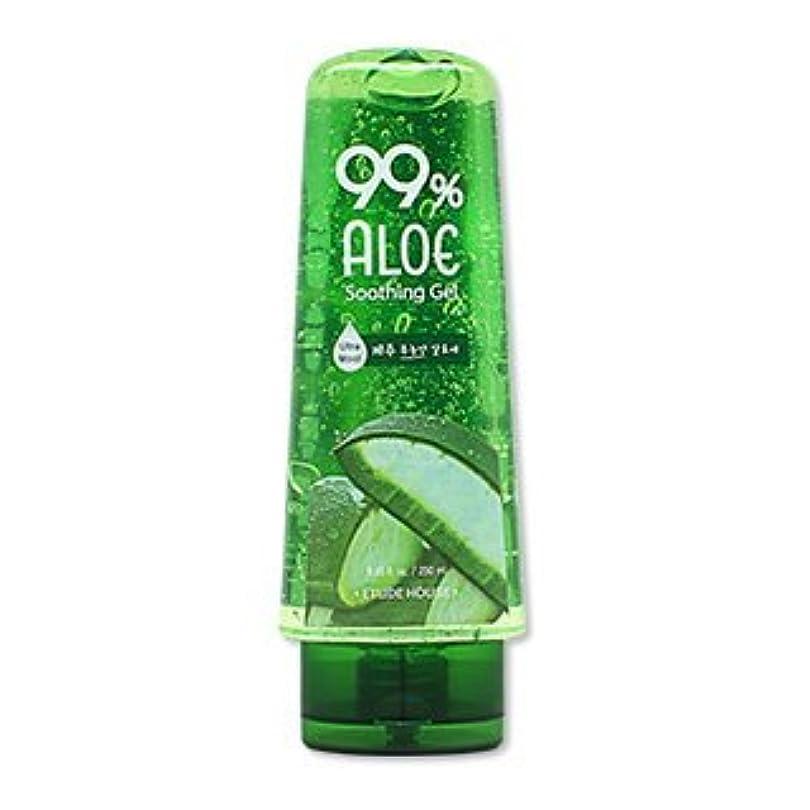 小売列挙する損傷ETUDE HOUSE 99% Aloe Soothing Gel 250ml/エチュードハウス 99% アロエ スージング ジェル 250ml