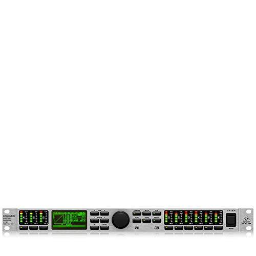 Behringer Ultradrive Pro DCX2496 Professional Ultra-High Precision Digital 24-Bit/96 kHz Loudspeaker Management System,Black & Grey