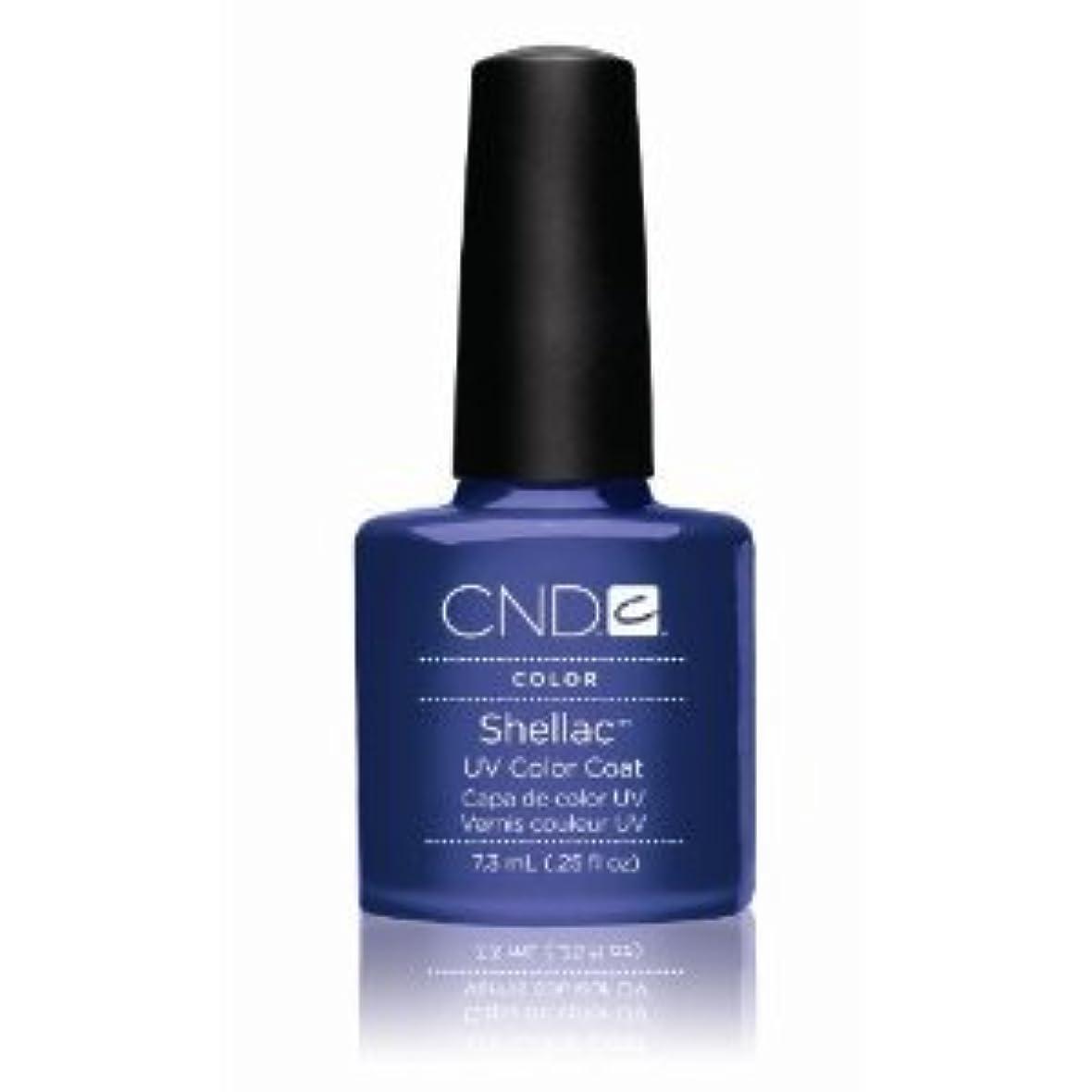 もつれシャンプー限られたCND(シーエヌディー) シェラック UVカラーコート7.3mL 530 Purple Purple(パール) [並行輸入][海外直送品]